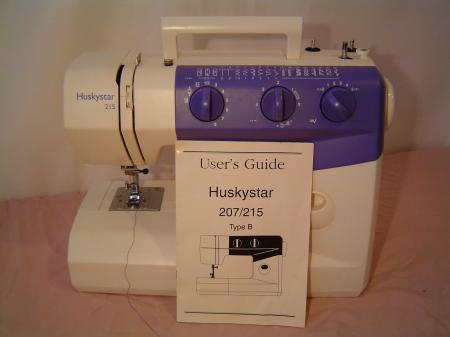 husqvarna viking 215 sewing machine manual