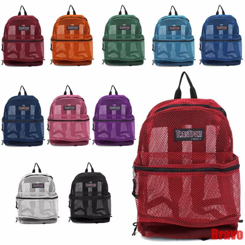 Transport Mesh Backpack Large Multi Color Mesh Backpack