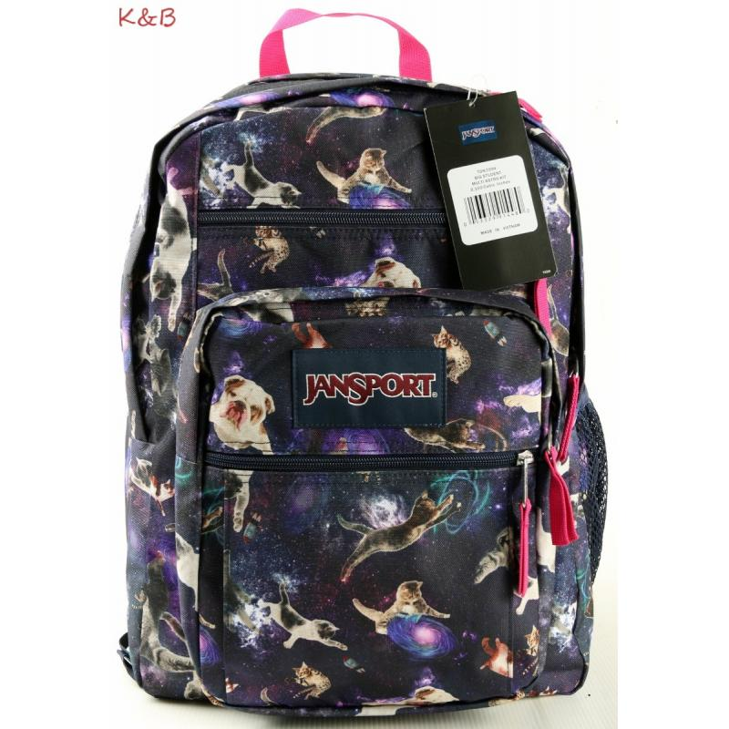 2016 JANSPORT BIG STUDENT MULTI ASTRO KITTY LARGE BACKPACK - NEW ...