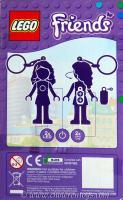 LEGO Friends Olivia LED Key Light Key Chain by Santoki Brand NEW /& SEALED