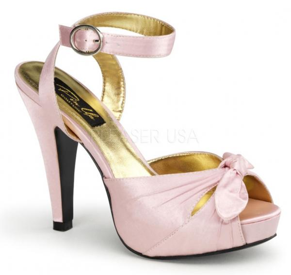 SATIN BABY PINK or IVORY 4.5