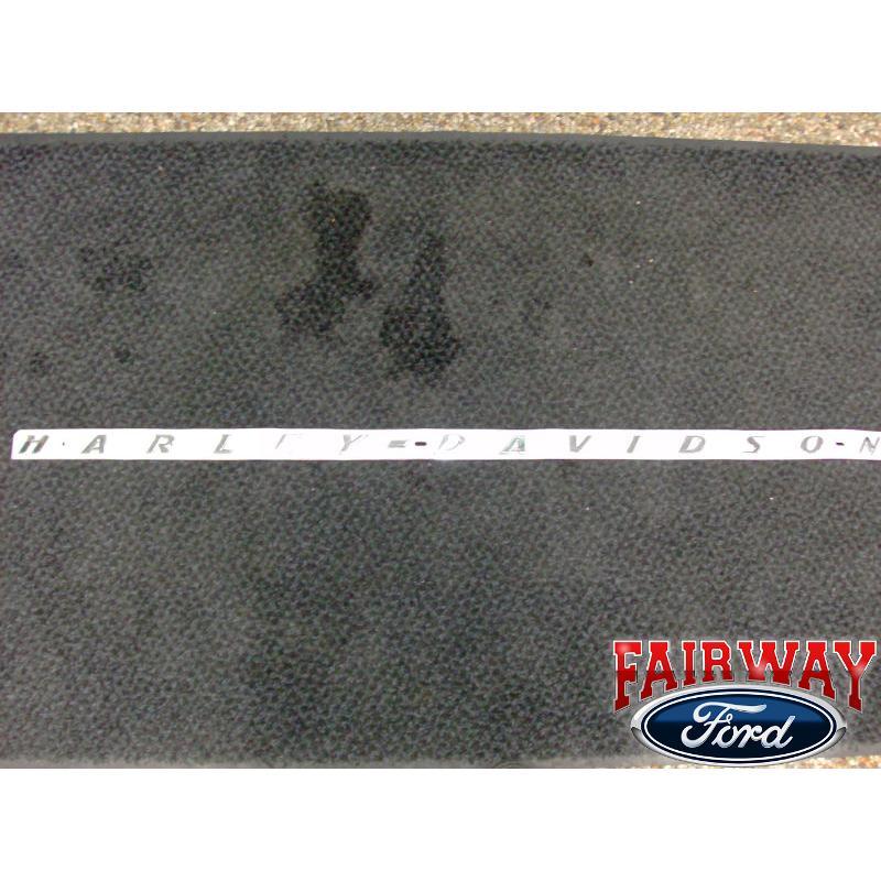 F 250 F 350 Super Duty Genuine Ford Parts Harley Davidson Bedside Emblem New
