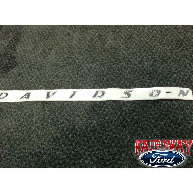 F 150 F150 Genuine Ford Parts Harley Davidson Bedside Emblem New