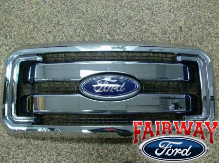 Ford F250 Chrome Grill | Autos Post
