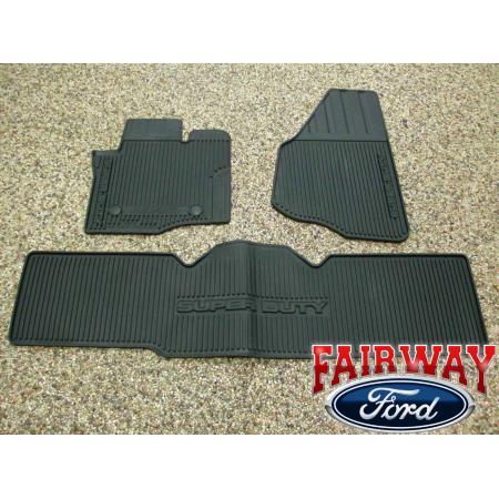 12 Thru 16 Super Duty F250 F350 Oem Genuine Ford Rubber
