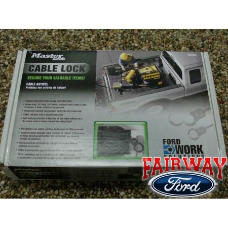 16 f250 f350 super duty oem ford cable lock system ford work solutions. Cars Review. Best American Auto & Cars Review