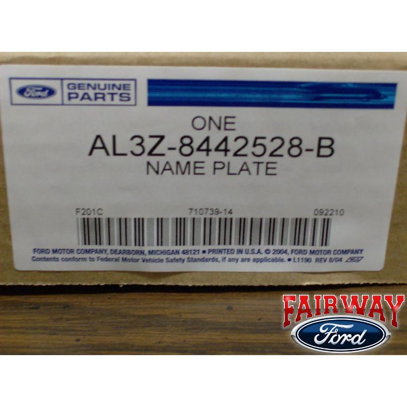 09 thru 14 F 150 Genuine Ford Parts Harley Davidson Tailgate Emblem New