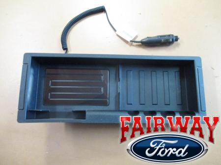 09 thru 17 F150 OEM Genuine Ford Console Wireless Cell ...