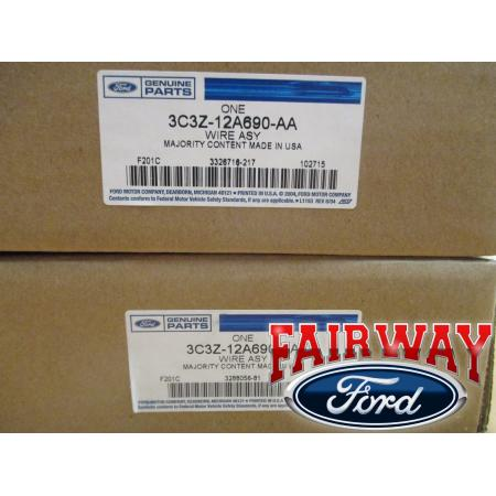 03 super duty f250 f350 oem genuine ford glow plug wire harness click here to enlarge · click here to enlarge