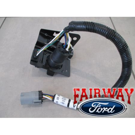 99 thru 01 f250 f350 super duty ford 4 & 7 pin trailer tow ... f350 trailer wiring harness 99 f350 trailer wiring diagram