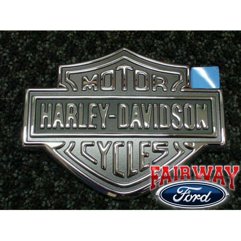 Super Duty F250 F350 Genuine Ford Parts Harley Davidson Tailgate Emblem New
