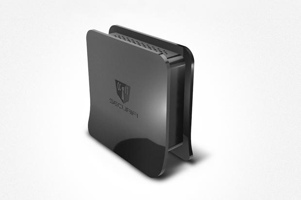 Securifi Almond Touch Screen Wireless N Router Range Extender Booster