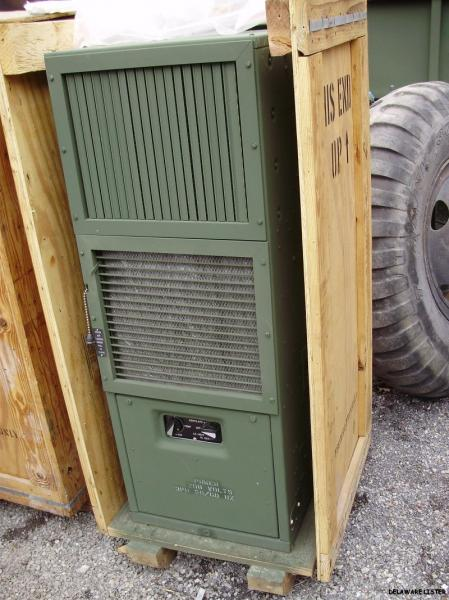 Military Truck Shelter 18K BTU Air Conditioner Heat