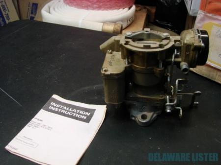 Vintage Jeep Carburetor Carter YF 6552 1970s 232 258 199 CID