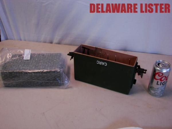 Details about *Military Sincgars Falcon Radio Battery Box/Holder Harris Co   #10535-0935-01 New