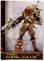 Arsenal Of Doom Trade Card C331 Spawn The Toy Files #76 Spawn IV