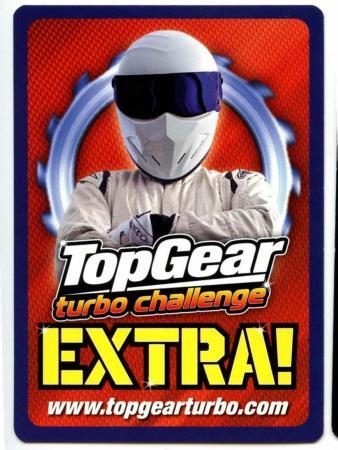 Noble M600 #404 Top Gear Turbo Challenge Rare Trade Card C362