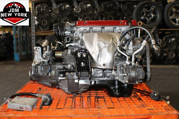 1998-2002 HONDA ACCORD EURO R 2.2L VTEC ENGINE 5-SPEED LSD TRANSMISSION ECU JDM H22A T2W4 #3 ...