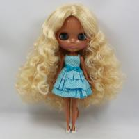 "Takara 12/"" Neo Blythe Dark Skin  Nude Doll from Factory TBY208"
