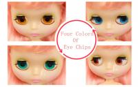 """12/"""" Neo Blythe Doll Transparent skin from Factory Joint Body Nude Doll JSW93010"""