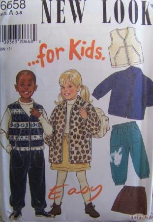 Simplicity 8342 - Kids Jackets and Pants - Sewing classes