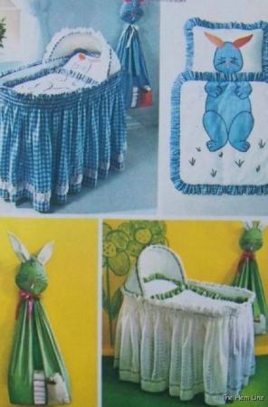 baby bassinet bedding patterns 2