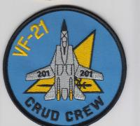VF-21 FREELANCERS US NAVY F-14 TOMCAT Fighter Squadron Enlisted Uniform Patch