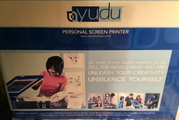 Yudu Personal Screen Printer Machine Unused In Worn Box