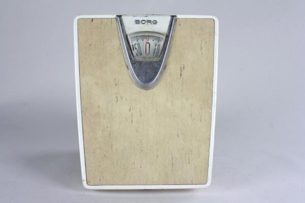 Vintage 50s 60s neat retro borg bathroom scale atomic for Borg bathroom scale