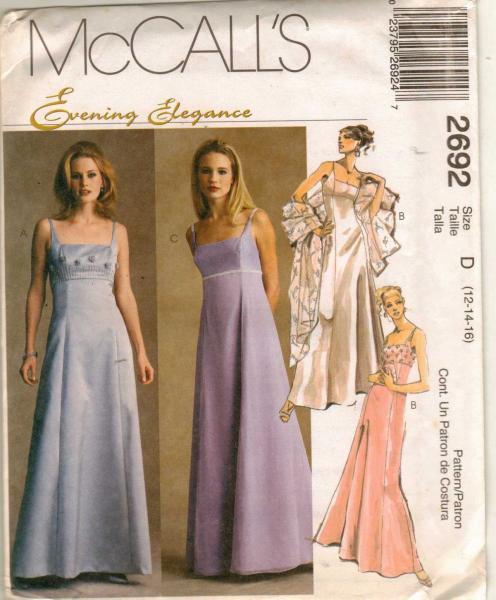 Nice Mccalls Prom Dress Patterns Ornament - Wedding Plan Ideas ...