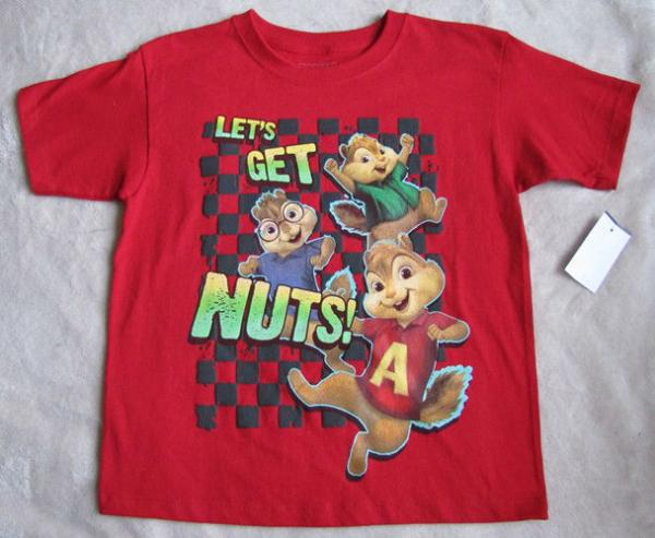 alvin and the chipmunks let s get nuts t shirt