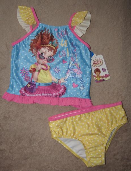 b7352f5fe1 FANCY NANCY* 2pc Swimsuit Bathing Swim Suit Toddler sz 5T   eBay
