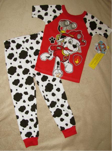 PAW PATROL *Marshall to Rescue* S/S Shirt Pajamas Long Pjs Toddler ...