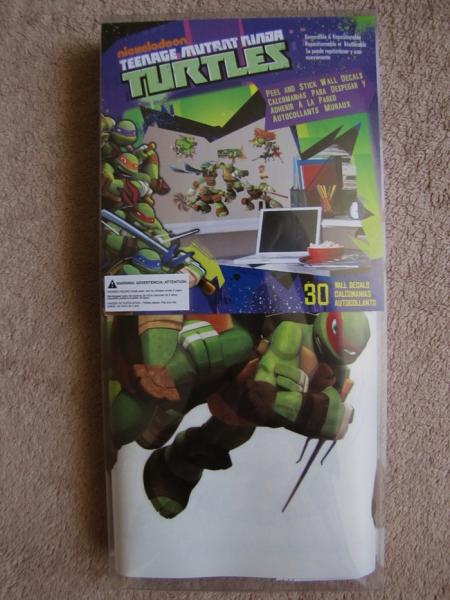 Teenage Mutant Ninja Turtles Tmnt 30pc Wall Stickers