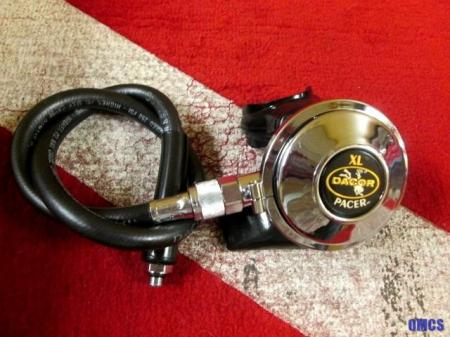 Scuba diving pre owned dacor pacer xl second stage regulator exc condition ebay - Dacor dive computer ...
