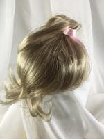 "7//8/"" Ringlets Dark Brown Doll Wig BJD Dollfie Reborn OOAK Bisque Repair LUCIE"