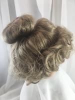 "11//12"" Braids Strawberry Blonde Doll Wig Reborn OOAK BJD Ceramic Repair TONI"