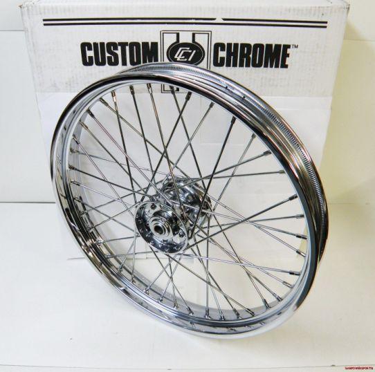 21 x 2 15 40 Spoke Custom Chrome 36 66 Front Wheel Harley TIMKEN Style