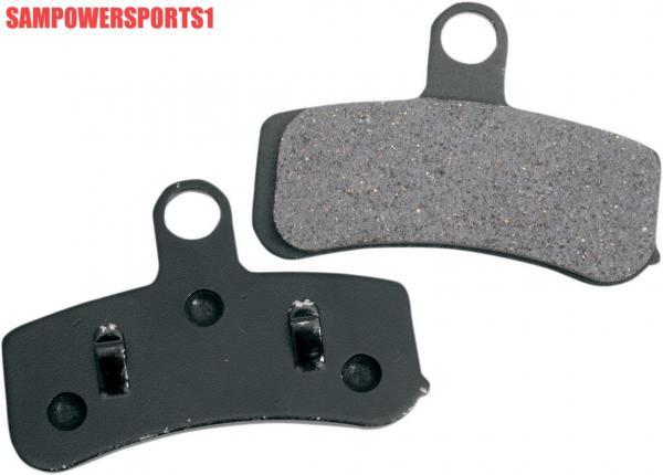 Kevlar Brake Lining : Front organic kevlar brake pads harley softail dyna up