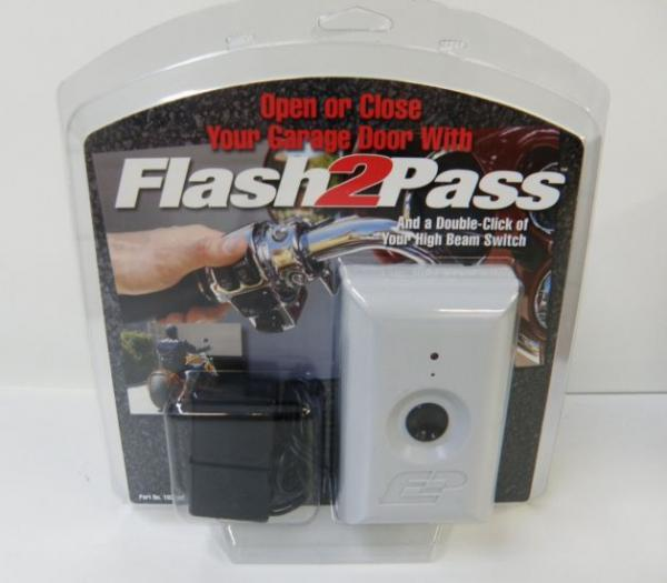 Flash 2 Pass Flash Pass Motorcycle Garage Door Opener