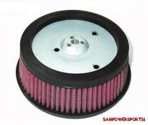 High Flow Air Cleaner Harley : High hi flow air cleaner replacement filter for harley