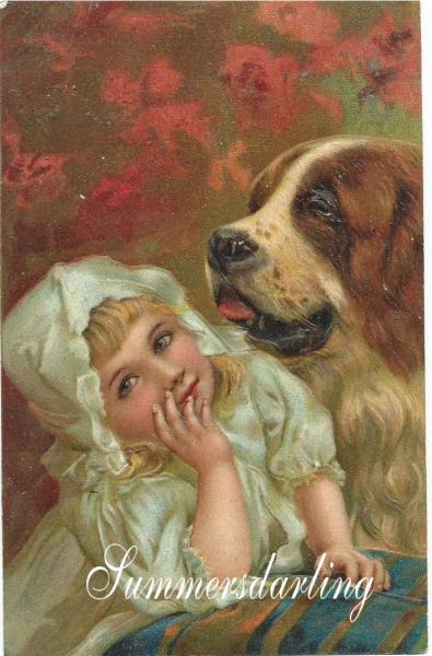 Details about SAINT BERNARD*VICTOR IAN*ST. BERNARD AS A NANNY*BABY*NEW ...: ebay.com.au/itm/saint-bernard-victorian-st-bernard-nanny-baby...