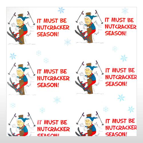 Funny Holiday Season Wrapping paper to the BALLS - NUTCRACKER | eBay