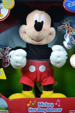 Mickey Hot Dog Dancer Disney Dance & Sing Funny Jokes Mickey Mouse ...