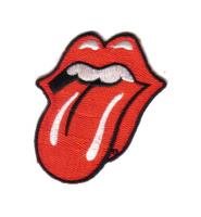 The Rolling Stones Red Tongue Licks Logo Patch