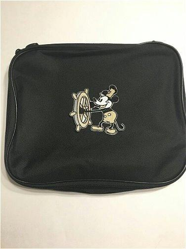 Details about Steamboat Willie aka Mickey Mouse Pin Trading Book Bag for  Disney Pin Collection