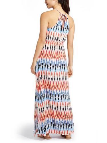 b3c5ee05b1bd Athleta Dress Blue Sunset Maxi Dress Xlarge XL