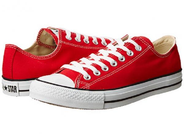 443580d7888d Converse Chuck Taylor All Star Ox Days Ahead Red Low Top Unisex Shoes 11 M  13 W