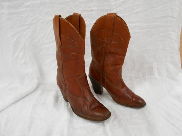 Made In Brazil Women Brown Leather 12 Quot Tall Mid Calf 3