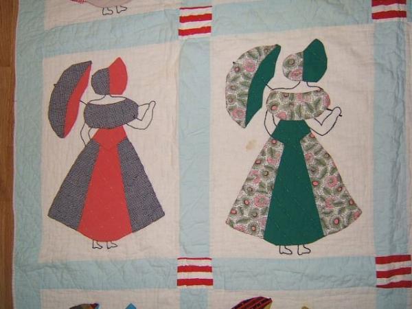Vintage Antique Beautiful Southern Belle Crinoline Lady
